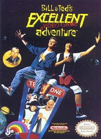 Bill & Ted's Excellent Video Game Adventure Box Art