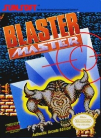 Blaster Master (oval seal) Box Art