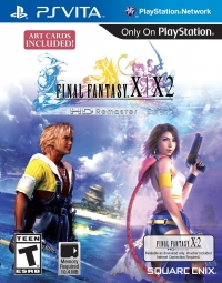 Final Fantasy X   X-2 HD Remaster (Art Cards Included) Box Art