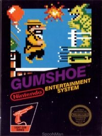 Gumshoe (3 screw cartridge) Box Art
