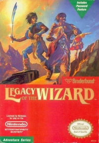 Legacy of the Wizard Box Art