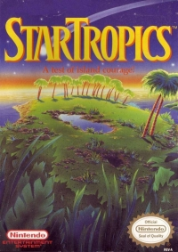 StarTropics Box Art