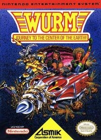 Wurm: Journey to the Center of the Earth Box Art