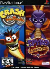 Crash TwinSanity Spyro A Hero's Tail Box Art
