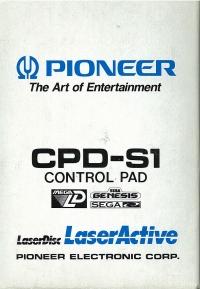 Pioneer CPD-S1 Control Pad Box Art