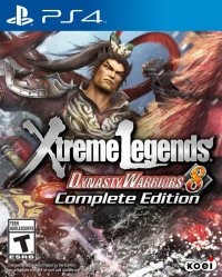 Dynasty Warriors 8: Xtreme Legends - Complete Edition Box Art