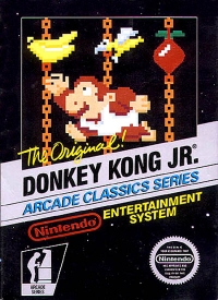 Donkey Kong Jr. - Arcade Classics Series (3 screw cartridge) Box Art