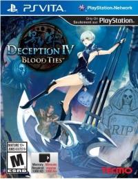 Deception IV: Blood Ties Box Art