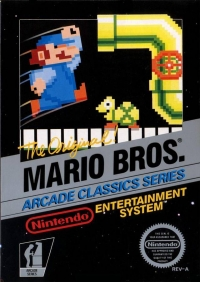 Mario Bros. - Arcade Classics Series (3 screw cartridge) Box Art