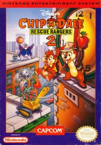 Disney's Chip 'n Dale: Rescue Rangers 2 Box Art