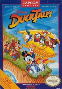 Disney's DuckTales Box Art
