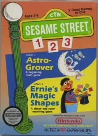 Sesame Street 123 (round seal) Box Art