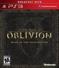 Elder Scrolls IV, The: Oblivion - Game of the Year Edition - Greatest Hits Box Art