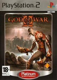 God of War II - Platinum Box Art