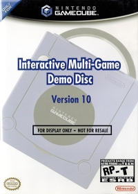 Interactive Multi-Game Demo Disc Version 10 Box Art