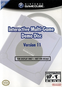 Interactive Multi-Game Demo Disc Version 11 Box Art