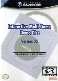 Interactive Multi-Game Demo Disc Version 35 Box Art