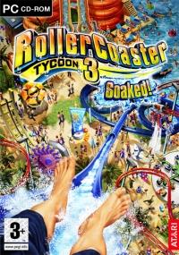 Rollercoaster Tycoon 3: Soaked! Box Art