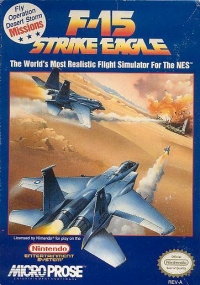 F-15 Strike Eagle Box Art