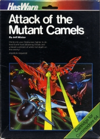 Attack Of The Mutant Camels Box Art
