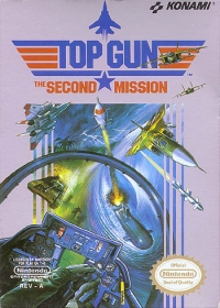 Top Gun: The Second Mission Box Art