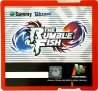 Atomiswave - The Rumble Fish Box Art