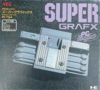 NEC PC Engine Super Grafx Box Art