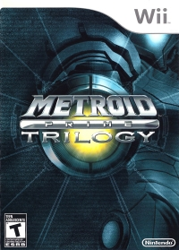 Metroid Prime: Trilogy (Reissue) Box Art