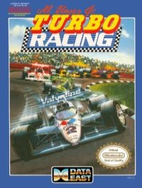 Al Unser Jr. Turbo Racing Box Art