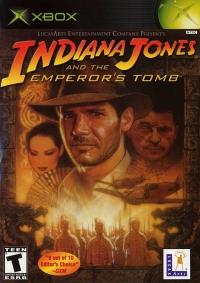 Indiana Jones and the Emperor's Tomb Box Art