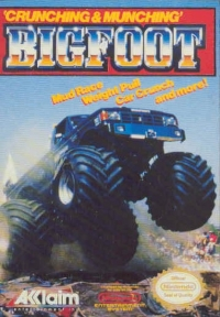 Bigfoot Box Art