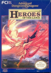 Advanced Dungeons & Dragons: Heroes of the Lance Box Art