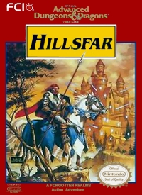 Advanced Dungeons & Dragons: Hillsfar Box Art