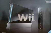 Nintendo Wii (Black) [JP] Box Art