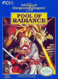 Advanced Dungeons & Dragons: Pool of Radiance Box Art