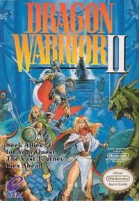 Dragon Warrior II Box Art