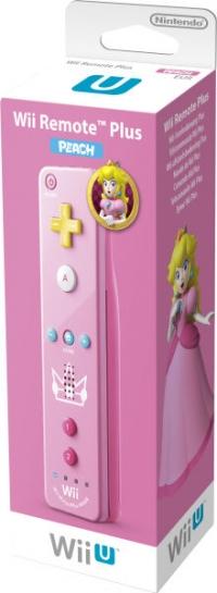 Wii Remote Plus - Peach [EU] Box Art