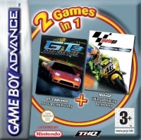 2 Games in 1: GT 3 Advance Pro Concept Racing + MotoGP Ultimate Racing Technology Box Art