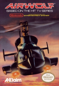 Airwolf Box Art