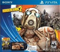 Sony PlayStation Vita PCH-2001 - Borderlands 2 Box Art