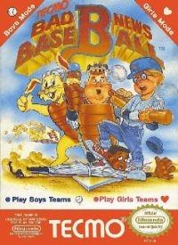 Bad News Baseball Box Art