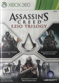 Assassin's Creed: Ezio Trilogy Box Art