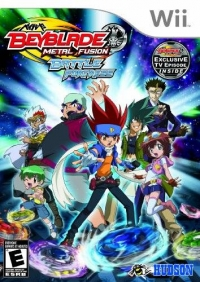 Beyblade Metal Fusion: Battle Fortress Box Art