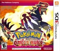 Pokémon: Omega Ruby Version Box Art