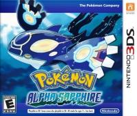 Pokémon: Alpha Sapphire Box Art