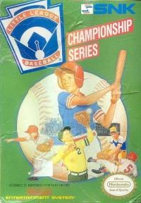 Little League Baseball: Championship Series Box Art