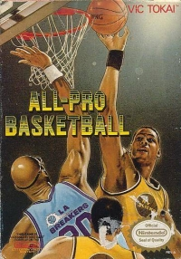 All-Pro Basketball Box Art