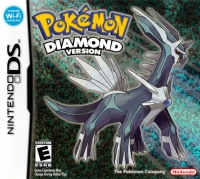 Pokémon: Diamond Version Box Art
