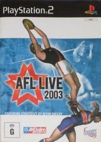 AFL Live 2003 Box Art