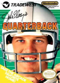 John Elway's Quarterback Box Art